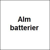 Vanliga batterier