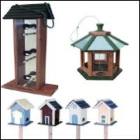 Fågelhus och fågelbord
