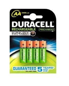 DURACELL AA / HR6 / R06 / R2U uppladdningsbara batterier (4 st.)