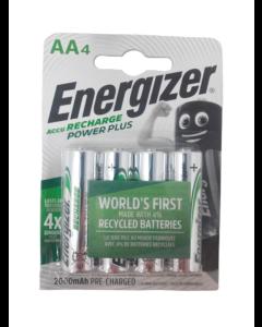 Energizer Recharge Power Plus AA / NH15 2000mAh Batterier (4 st.)