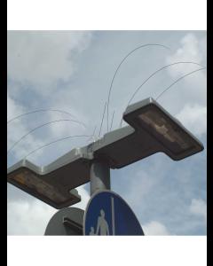 Fågelspikar för gatulampor (333 mm)