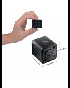 Mini Spion HD Kamera (Inklusive 8 GB SD-kort)