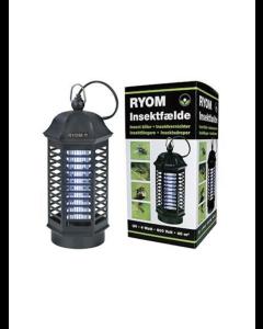 Insektfälla Ryom plast 1X 4W 40 M2