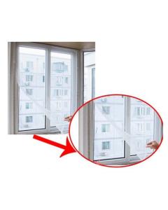 insektsnät för fönster svart