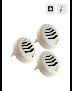 Ultraljudsskrämma mot Mus & Rått - 45m2 (3 st.)