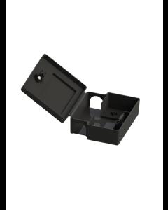 Boxstation för gift (svart)