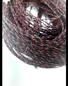 Svälja og sparvnät NO-FLAME (Svart/röd)