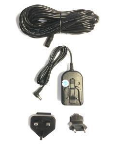 Universal adapter + 10 meter ledning