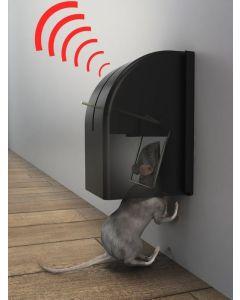 Rottefælde med PIR sensor til ophæng