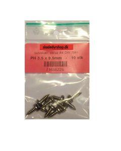 Självgängande skruvar 3.5 x 9.5mm 10 st.