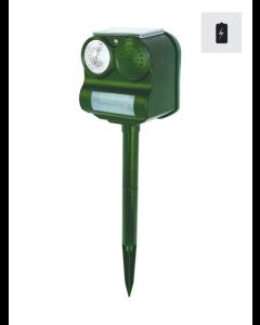 Skrämmor med ljud och blixt - inkl. batteri (70 m2)
