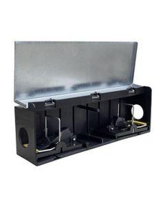 Tunnelbox Mus m/ 2 Smækfælder