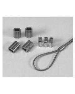 Trådlås till stållina 2 mm (1 st.)